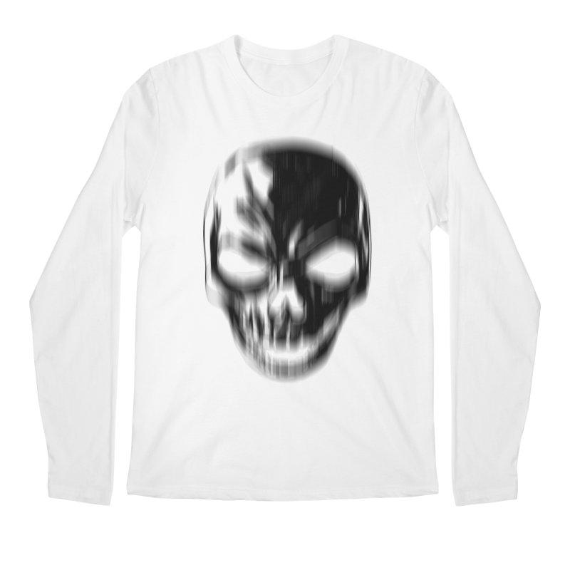 Blurred Skullines Men's Longsleeve T-Shirt by Matthew, Mark, Luke, & John's Artist Shop