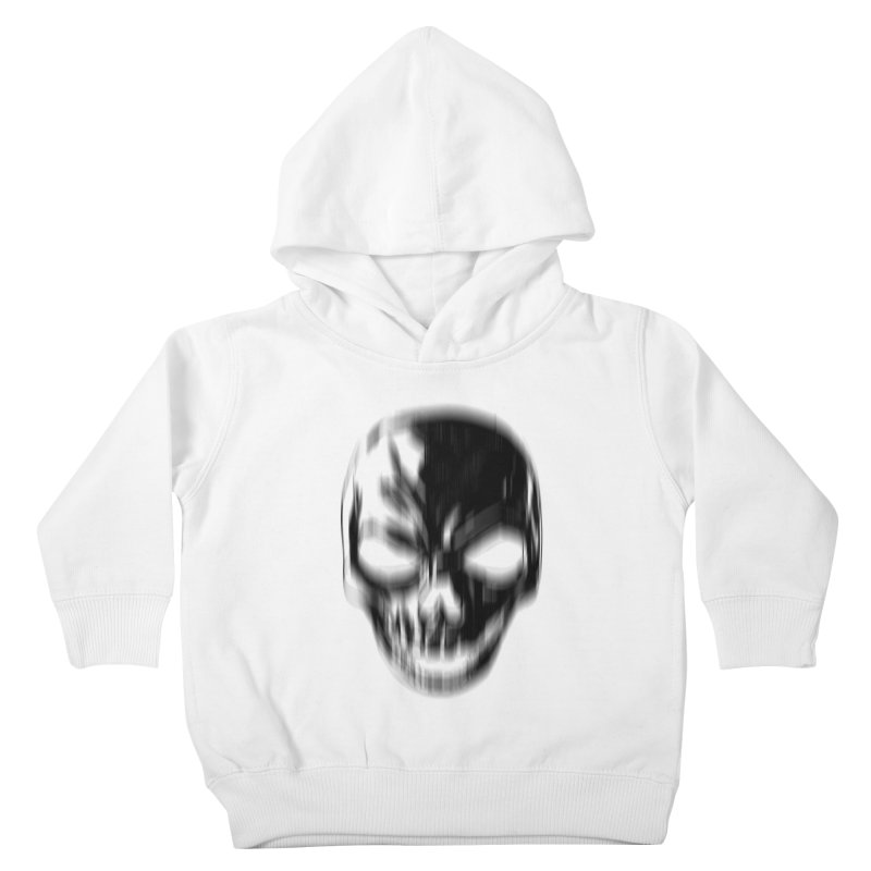 Blurred Skullines Kids Toddler Pullover Hoody by Matthew, Mark, Luke, & John's Artist Shop