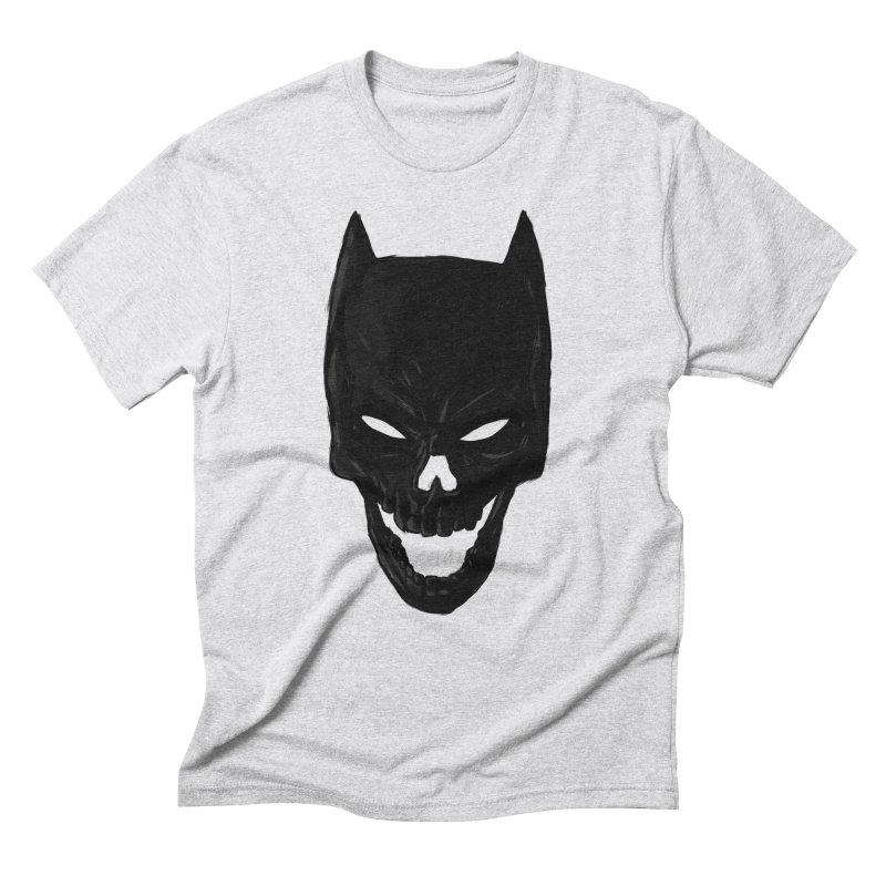 The Dark Wight Men's Triblend T-shirt by Matthew, Mark, Luke, & John's Artist Shop