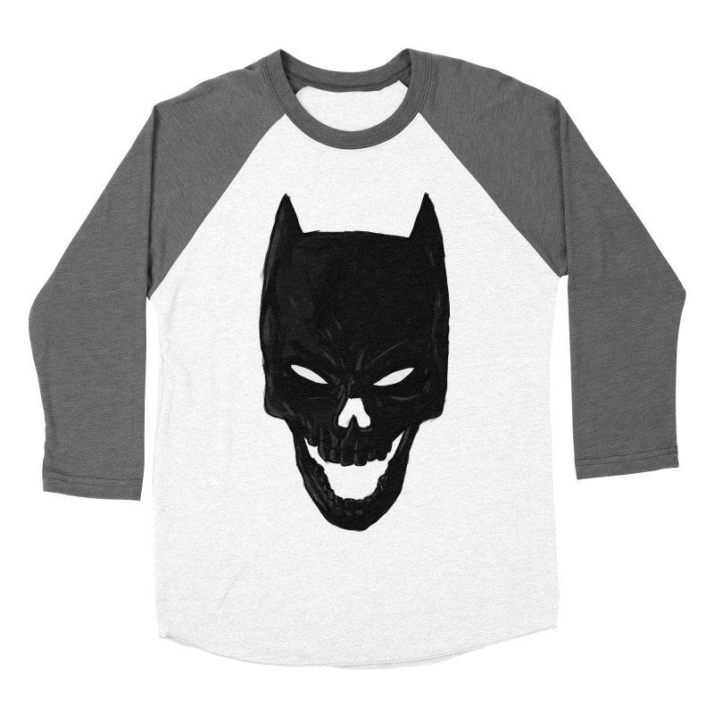 The Dark Wight Men's Baseball Triblend T-Shirt by Matthew, Mark, Luke, & John's Artist Shop