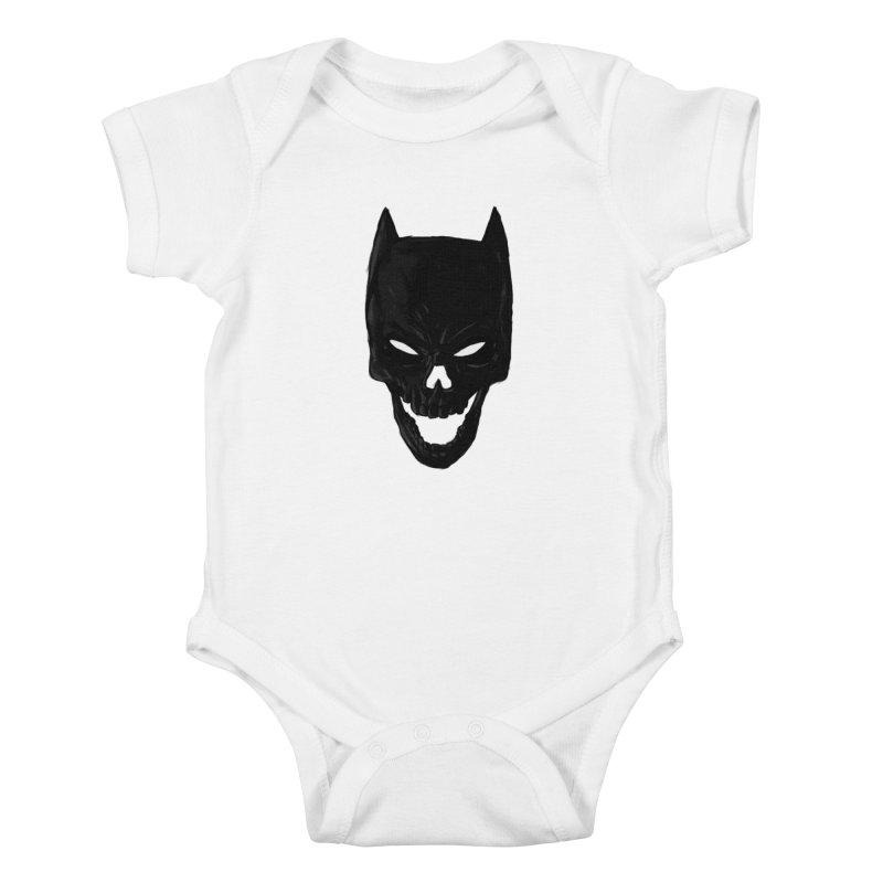The Dark Wight Kids Baby Bodysuit by Matthew, Mark, Luke, & John's Artist Shop