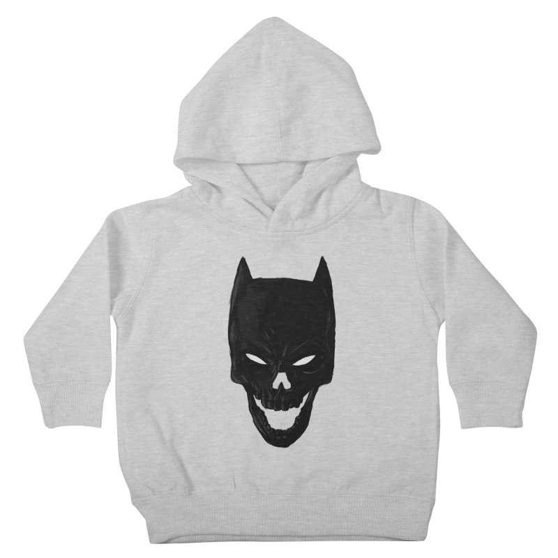 The Dark Wight Kids Toddler Pullover Hoody by Matthew, Mark, Luke, & John's Artist Shop