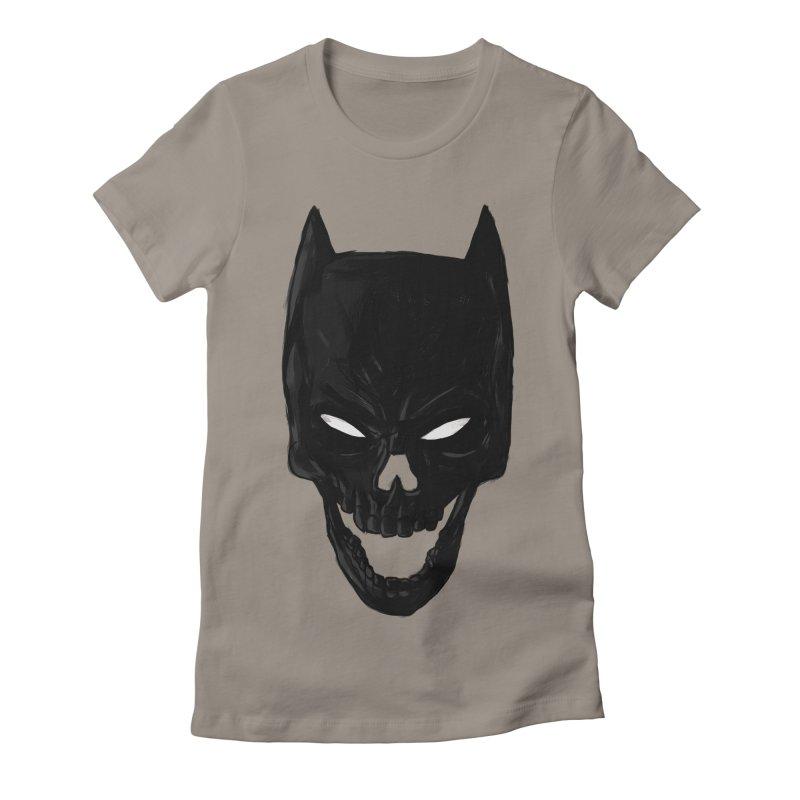 The Dark Wight Women's Fitted T-Shirt by Matthew, Mark, Luke, & John's Artist Shop