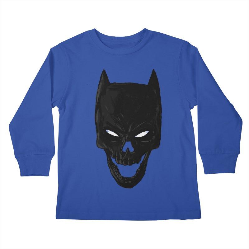 The Dark Wight Kids Longsleeve T-Shirt by Matthew, Mark, Luke, & John's Artist Shop