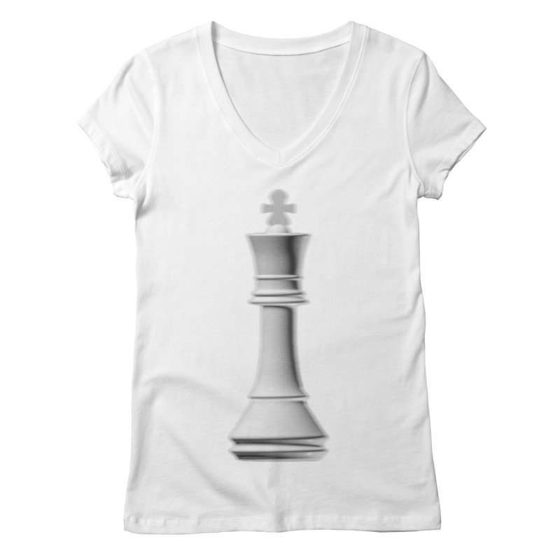 Three Kings: Pearl Women's V-Neck by Matthew, Mark, Luke, & John's Artist Shop