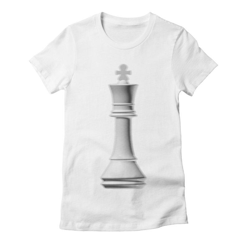 Three Kings: Pearl Women's Fitted T-Shirt by Matthew, Mark, Luke, & John's Artist Shop