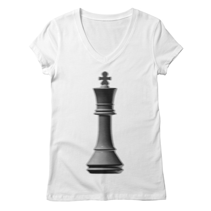 Three Kings: Smoke Women's V-Neck by Matthew, Mark, Luke, & John's Artist Shop