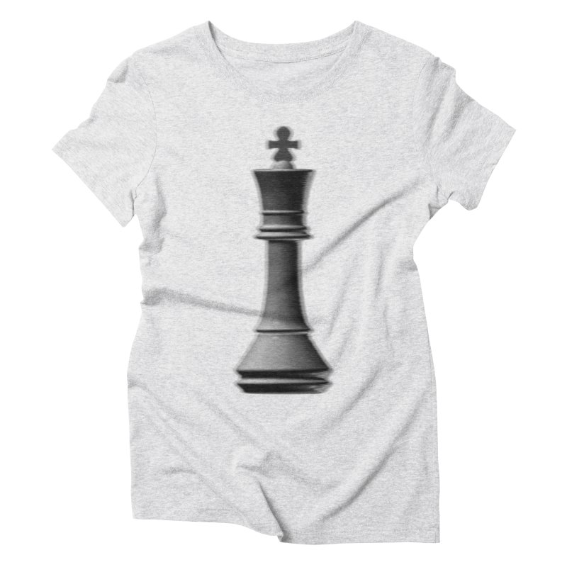 Three Kings: Smoke Women's Triblend T-Shirt by Matthew, Mark, Luke, & John's Artist Shop