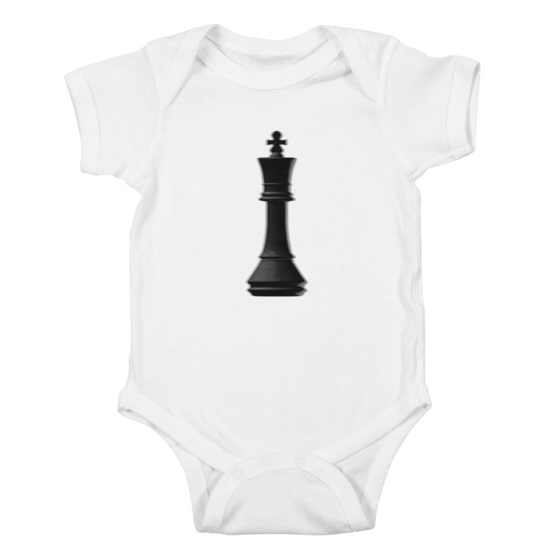 Three Kings: Onyx Kids Baby Bodysuit by Matthew, Mark, Luke, & John's Artist Shop