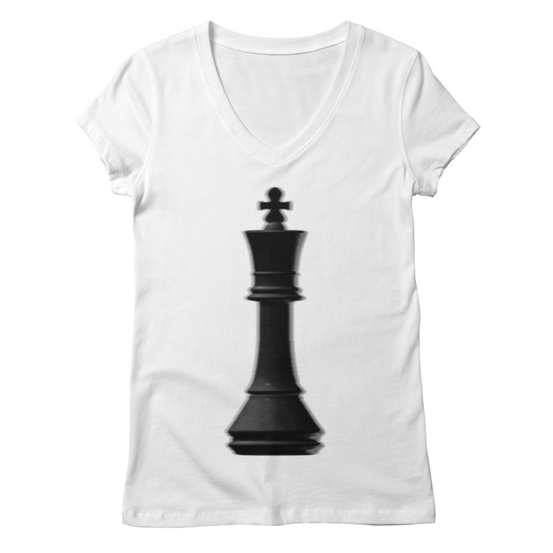 Three Kings: Onyx Women's V-Neck by Matthew, Mark, Luke, & John's Artist Shop