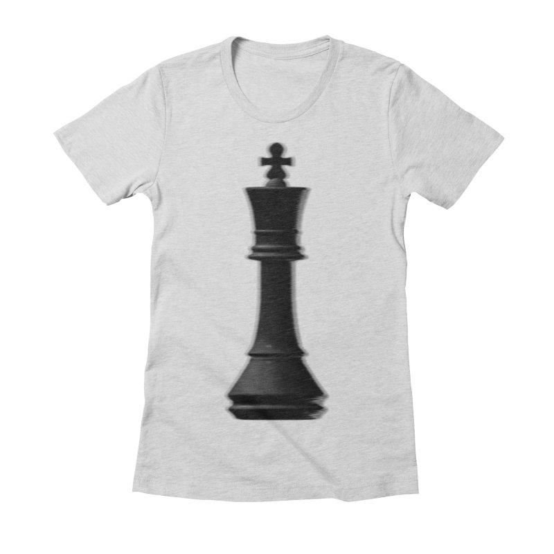 Three Kings: Onyx Women's Fitted T-Shirt by Matthew, Mark, Luke, & John's Artist Shop