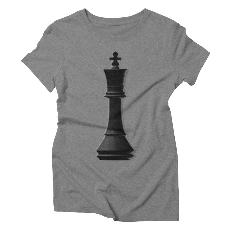 Three Kings: Onyx Women's Triblend T-Shirt by Matthew, Mark, Luke, & John's Artist Shop