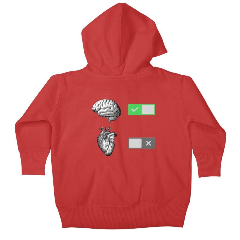 Sense or Sensibility - Part 1 Kids Baby Zip-Up Hoody by Matthew, Mark, Luke, & John's Artist Shop