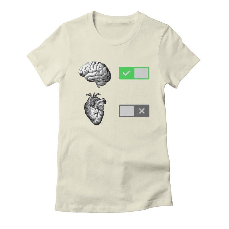 Sense or Sensibility - Part 1 Women's Fitted T-Shirt by Matthew, Mark, Luke, & John's Artist Shop