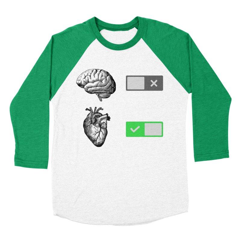 Sense or Sensibility - Part 2 Men's Baseball Triblend T-Shirt by Matthew, Mark, Luke, & John's Artist Shop