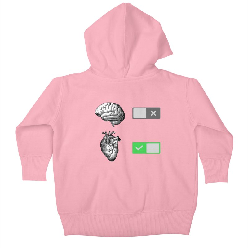 Sense or Sensibility - Part 2 Kids Baby Zip-Up Hoody by Matthew, Mark, Luke, & John's Artist Shop