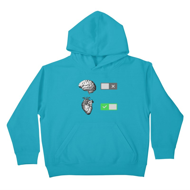 Sense or Sensibility - Part 2 Kids Pullover Hoody by Matthew, Mark, Luke, & John's Artist Shop