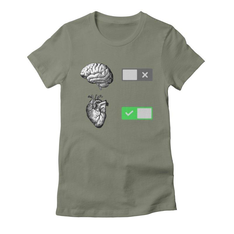 Sense or Sensibility - Part 2 Women's Fitted T-Shirt by Matthew, Mark, Luke, & John's Artist Shop