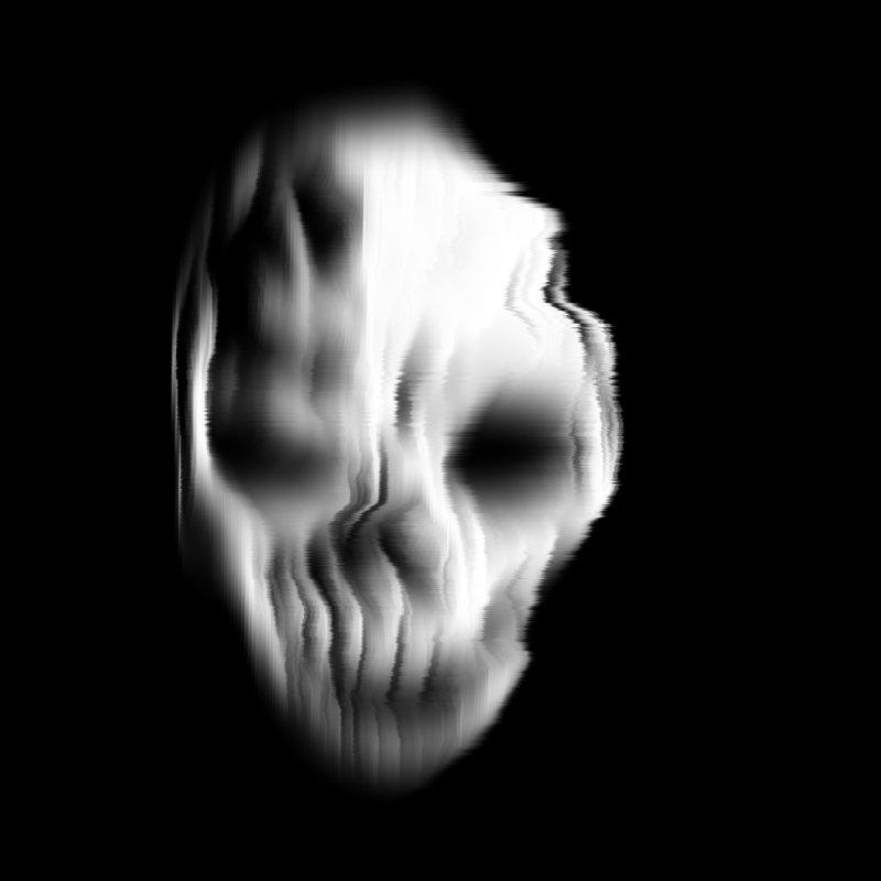 Blurred Skullines II by Matthew, Mark, Luke, & John's Artist Shop