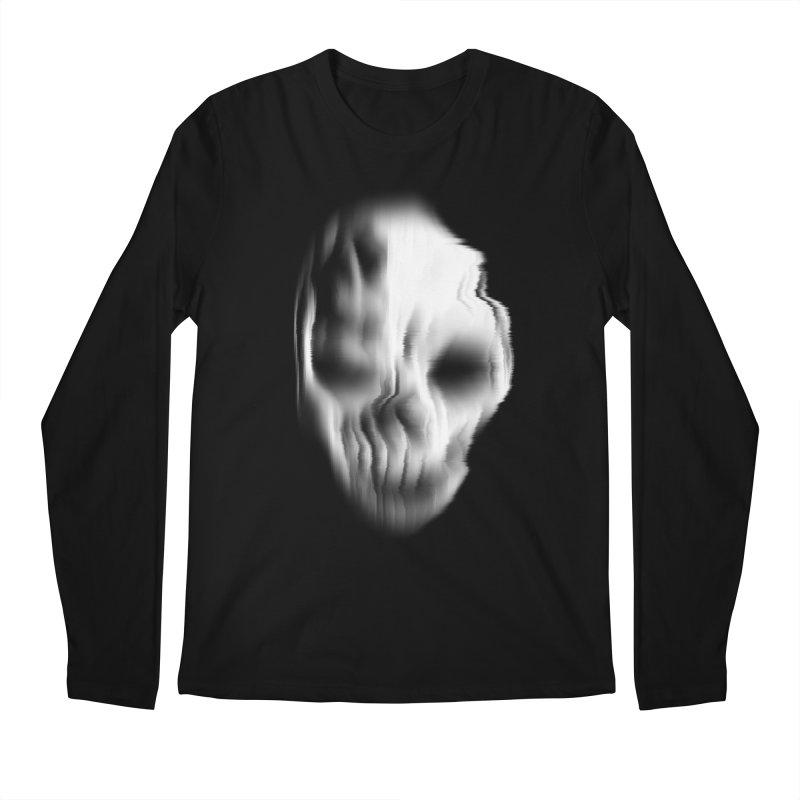 Blurred Skullines II Men's Longsleeve T-Shirt by Matthew, Mark, Luke, & John's Artist Shop