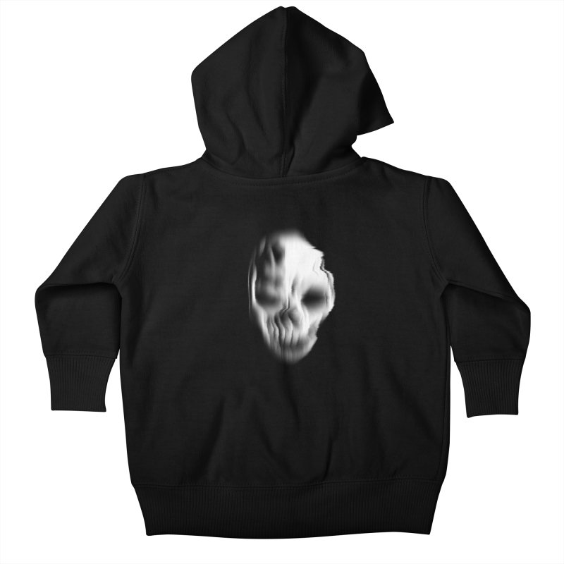 Blurred Skullines II Kids Baby Zip-Up Hoody by Matthew, Mark, Luke, & John's Artist Shop