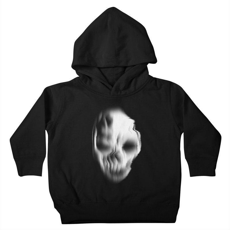 Blurred Skullines II Kids Toddler Pullover Hoody by Matthew, Mark, Luke, & John's Artist Shop