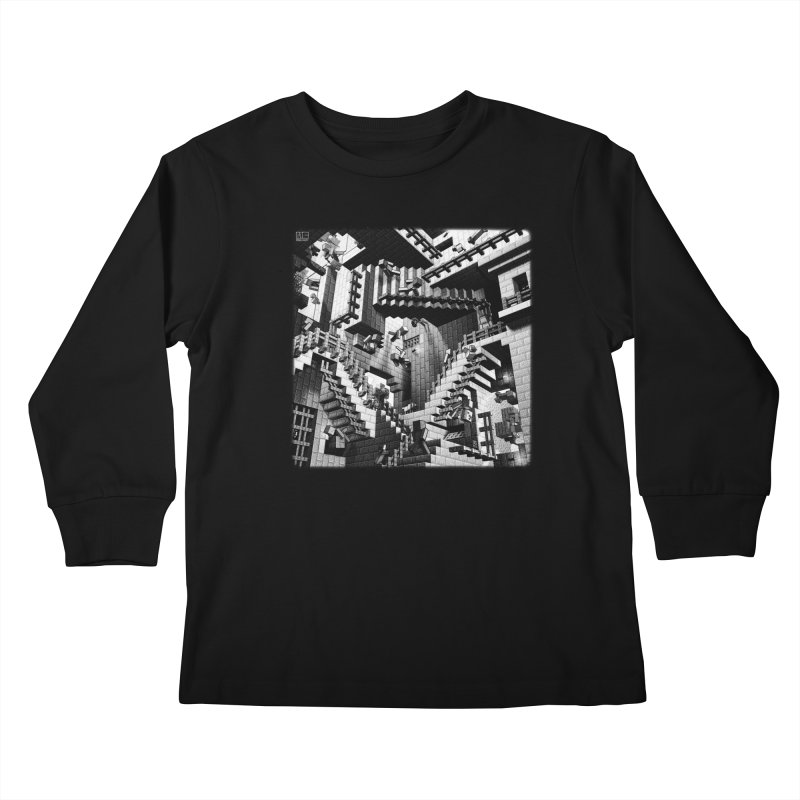 Building the Improbable Kids Longsleeve T-Shirt by Matthew Schindler's Shop