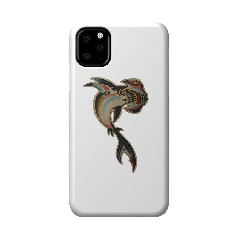 Hammerhead Shark - painted by Matt Howse Accessories Phone Case by Matt Howse's Artist Shop