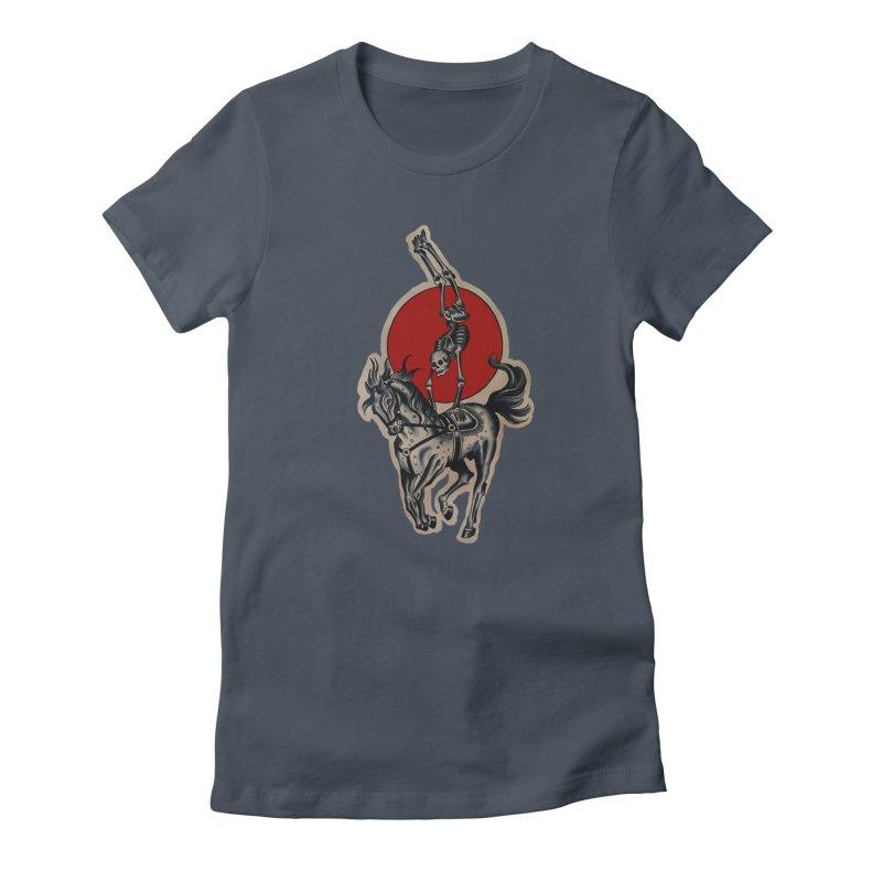 Death Circus - painted by Matt Howse Women's T-Shirt by Matt Howse's Artist Shop