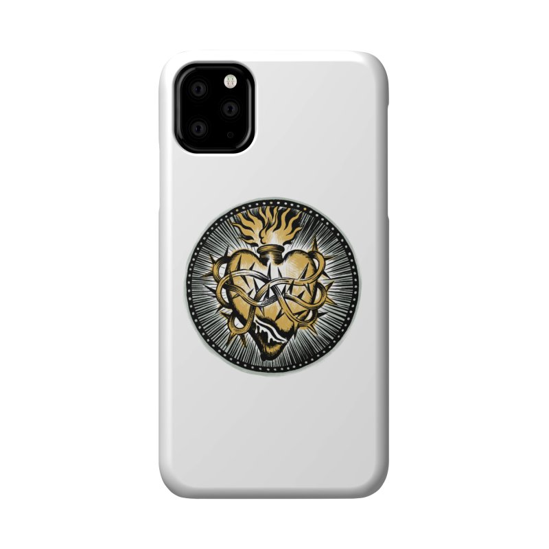 Sacred Heart - Matt Howse Accessories Phone Case by Matt Howse's Artist Shop