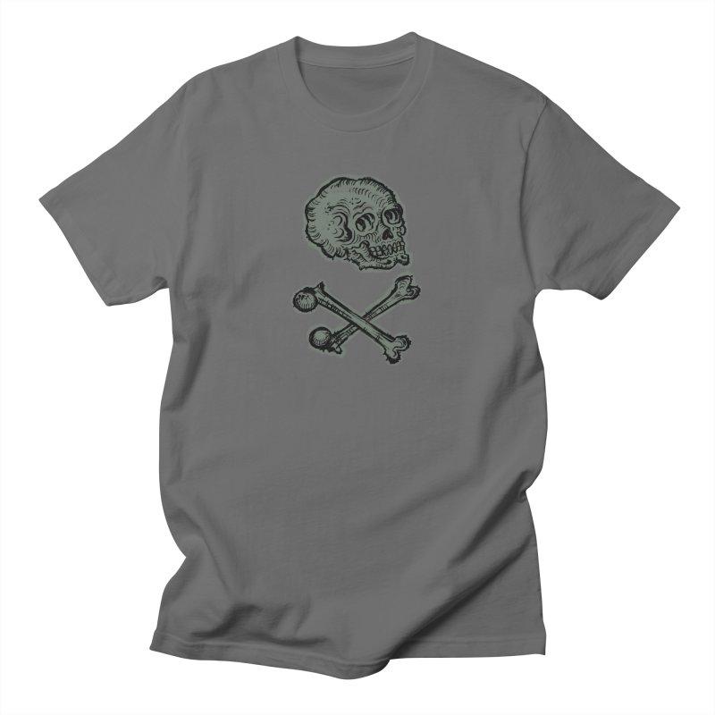 Skull and Crossbones Men's T-Shirt by Matt Howse's Artist Shop