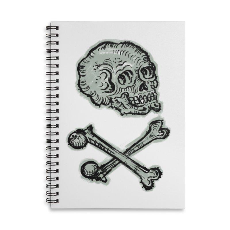 Skull and Crossbones Accessories Notebook by Matt Howse's Artist Shop