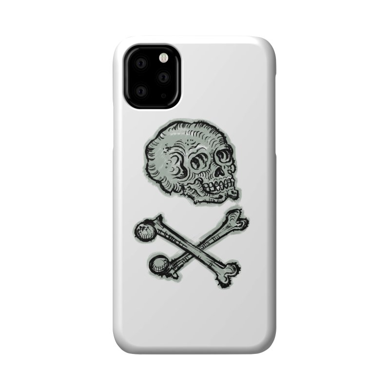 Skull and Crossbones Accessories Phone Case by Matt Howse's Artist Shop