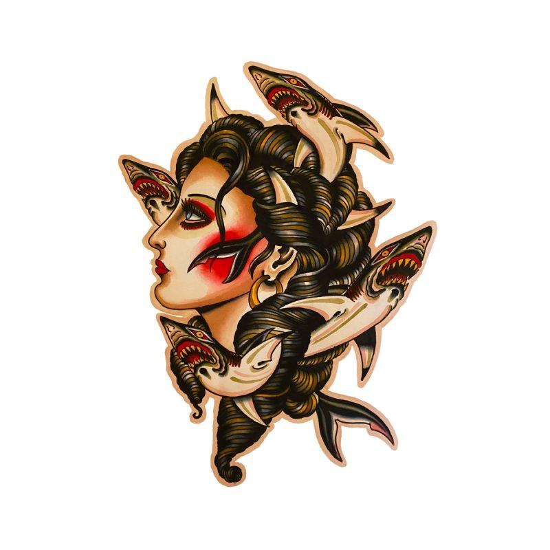 Sharklady 2020 Accessories Face Mask by Matt Howse's Artist Shop