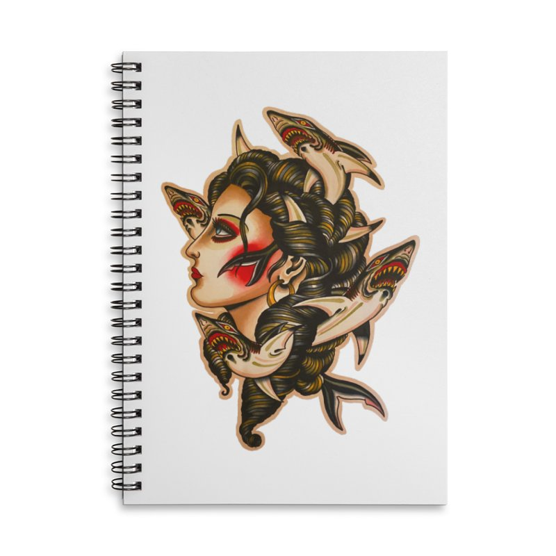 Sharklady 2020 Accessories Notebook by Matt Howse's Artist Shop