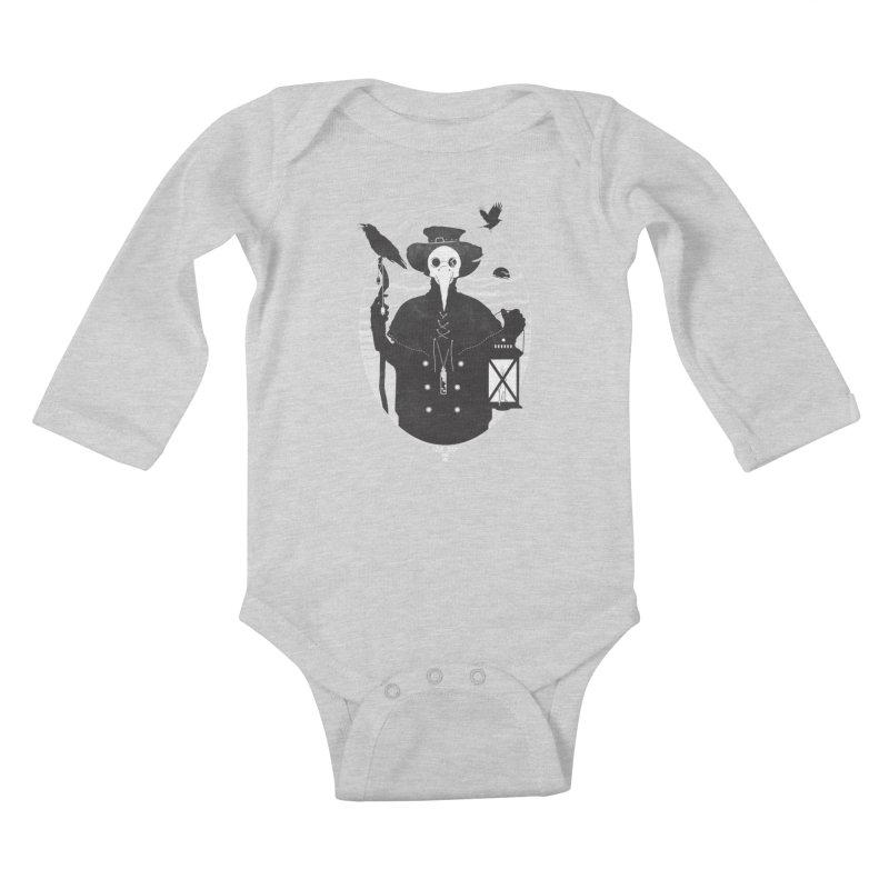 Il Dottore Kids Baby Longsleeve Bodysuit by Mattias Lundblad
