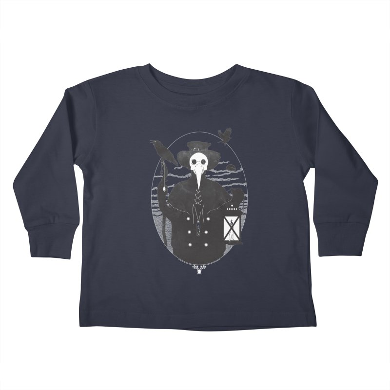Il Dottore Kids Toddler Longsleeve T-Shirt by Mattias Lundblad