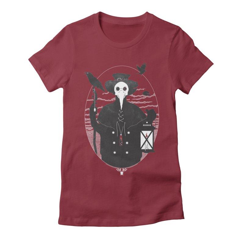 Il Dottore Women's Fitted T-Shirt by Mattias Lundblad