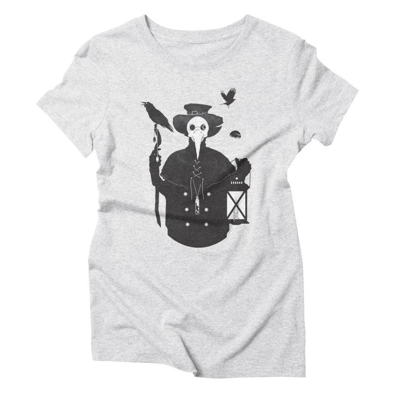 Il Dottore Women's Triblend T-shirt by Mattias Lundblad