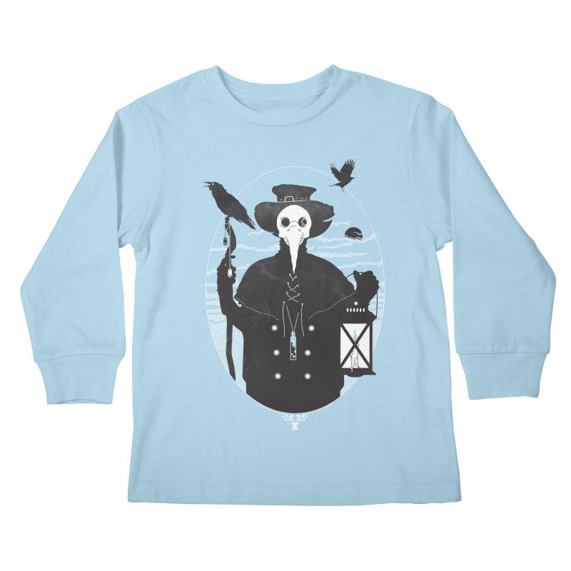 Il Dottore Kids Longsleeve T-Shirt by Mattias Lundblad
