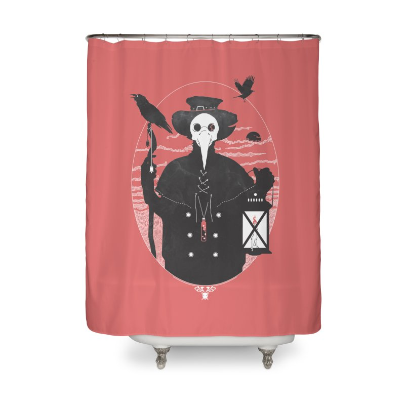 Il Dottore Home Shower Curtain by Mattias Lundblad