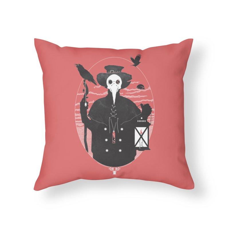 Il Dottore Home Throw Pillow by Mattias Lundblad