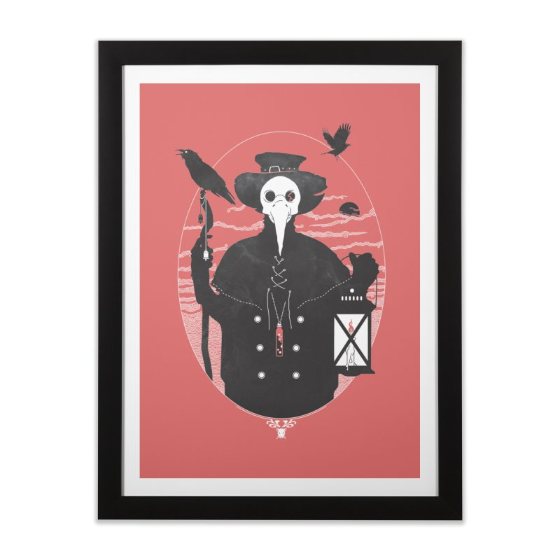 Il Dottore Home Framed Fine Art Print by Mattias Lundblad