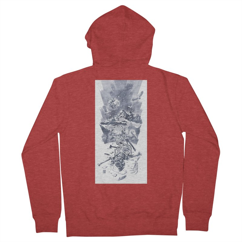 Nepal Women's Zip-Up Hoody by Mattias Lundblad