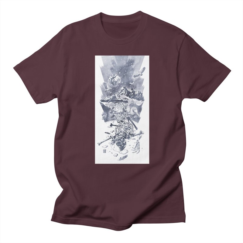 Nepal Men's T-Shirt by Mattias Lundblad