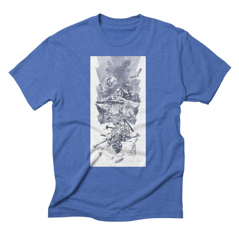 Nepal Men's Triblend T-shirt by Mattias Lundblad