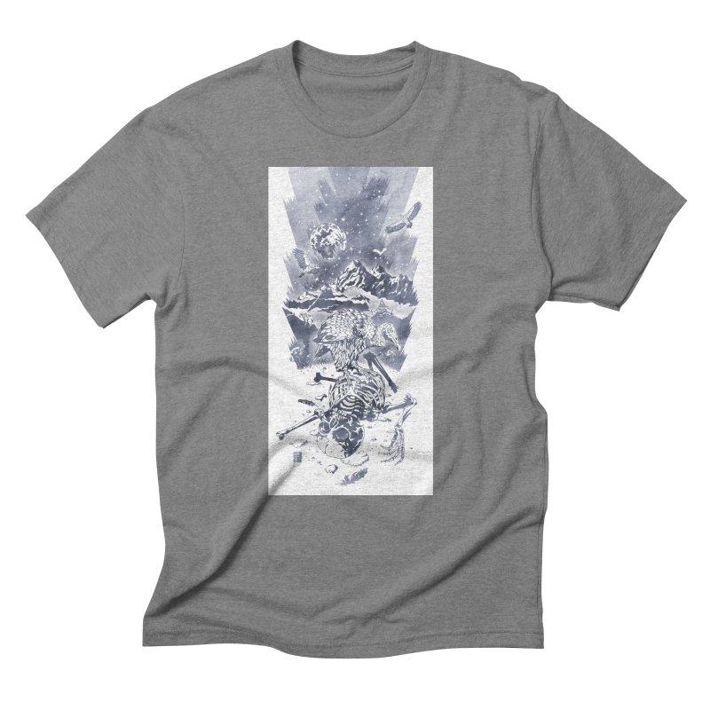 Nepal Men's Triblend T-Shirt by Mattias Lundblad