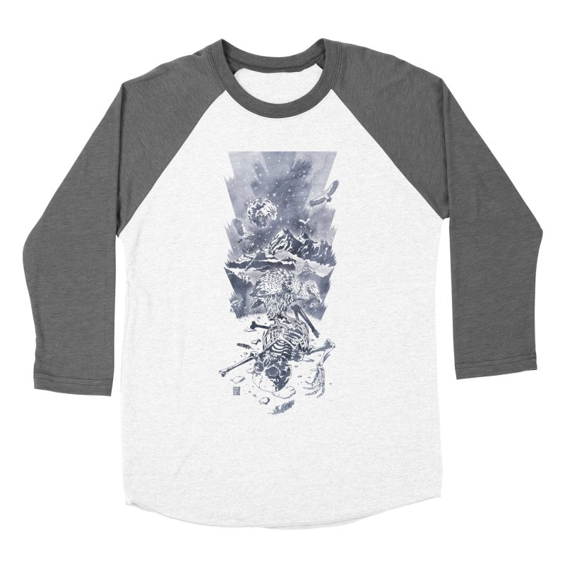 Nepal Women's Baseball Triblend T-Shirt by Mattias Lundblad