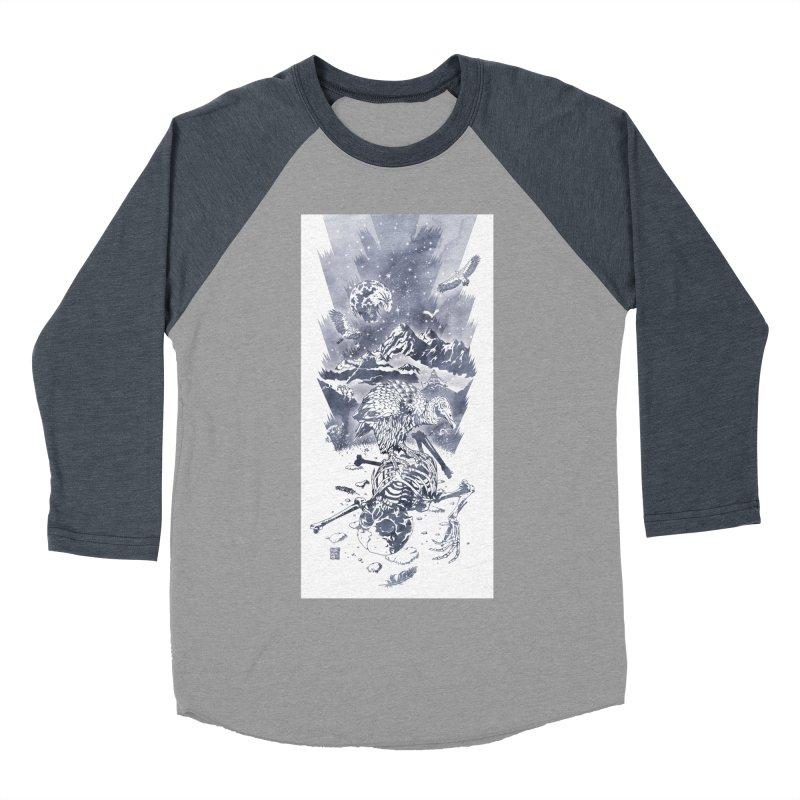 Nepal Men's Baseball Triblend T-Shirt by Mattias Lundblad