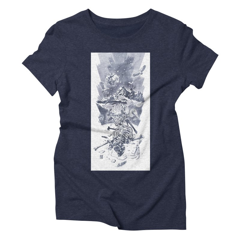 Nepal Women's Triblend T-Shirt by Mattias Lundblad